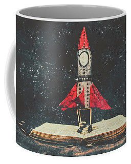 Imagination Is A Space Of Learning Fun Coffee Mug