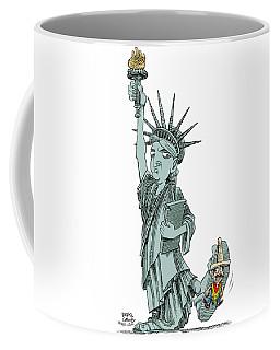 Immigration And Liberty Coffee Mug