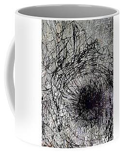 Coffee Mug featuring the mixed media Impact by Tony Rubino