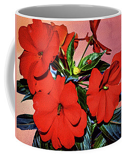 Impatience With Ladybug Coffee Mug by Diane Schuster