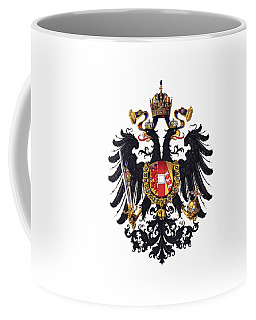 Imperial Coat Of Arms Of The Empire Of Austria-hungary 1815 Transparent Coffee Mug
