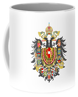 Imperial Coat Of Arms Of The Empire Of Austria-hungary Transparent Coffee Mug