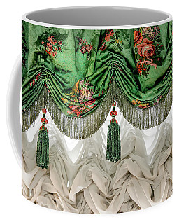 Coffee Mug featuring the photograph Imperial Russian Curtains by KG Thienemann