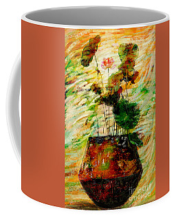 Impression In Lotus Tree Coffee Mug