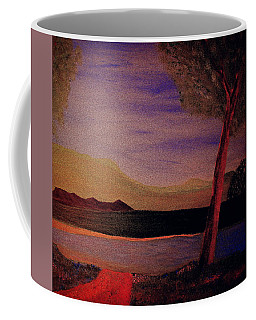 Coffee Mug featuring the painting Impression Of Dawn by Bill OConnor