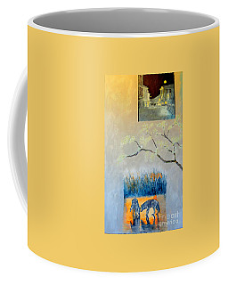 Impression Of The Town Of Wolves Coffee Mug