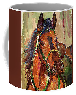 Impressionist Horse Coffee Mug