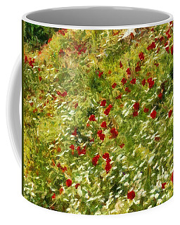 Impressionist Poppies Coffee Mug