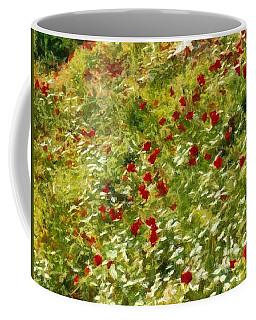 Impressionist Poppies Coffee Mug by Tracey Harrington-Simpson