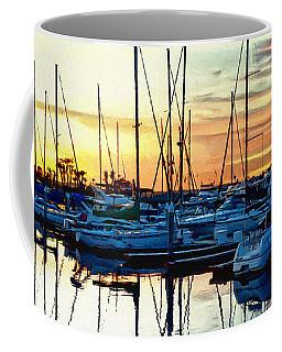 Impressions Of A San Diego Marina Coffee Mug