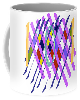 Improvised Geometry #1 Coffee Mug