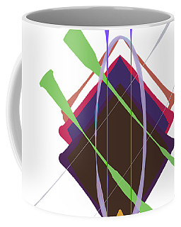 Improvised Geometry #3 Coffee Mug