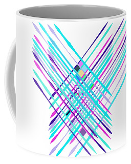 Improvised Geometry #2 Coffee Mug