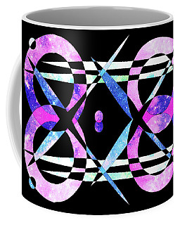 Coffee Mug featuring the digital art I Took A Retrofuturistic Journey In Space In 1920 by Bee-Bee Deigner