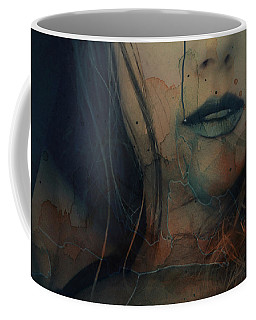 Coffee Mug featuring the mixed media In A Broken Dream  by Paul Lovering