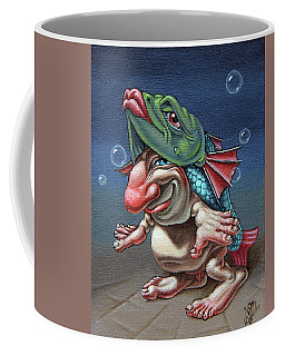 In A Fish Suit. Coffee Mug