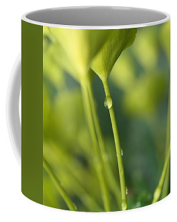 Coffee Mug featuring the photograph In A Forest Of Spurge  by Connie Handscomb