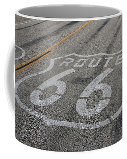 Coffee Mug featuring the photograph In A Hurry by Laddie Halupa