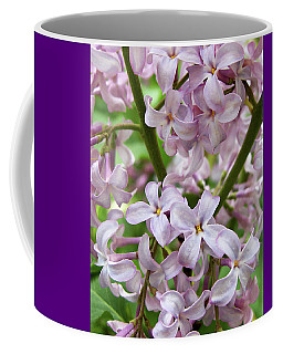 Sea Of Lilacs Coffee Mug