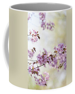 Coffee Mug featuring the photograph In Bloom. Spring Watercolors by Jenny Rainbow