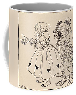 In Came The Three Women Dressed In The Coffee Mug