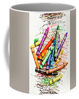 In Colours Of Broken Crayons Coffee Mug by Jorgo Photography - Wall Art Gallery