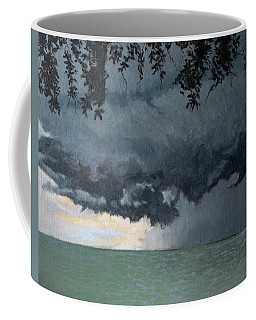 In Coming Storm-epping Forest On The Lake Coffee Mug