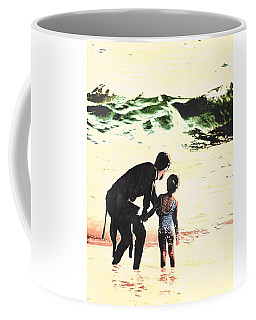 In Daddy's Arms Coffee Mug