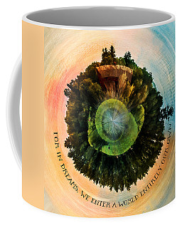 In Dreams A World Entirely Our Own Orb Coffee Mug