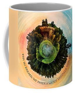 In Dreams A World Entirely Our Own Orb Coffee Mug