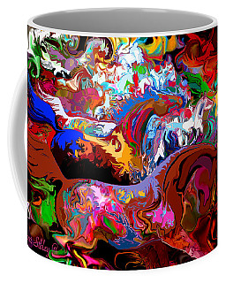 Coffee Mug featuring the digital art In Dreams by Loxi Sibley