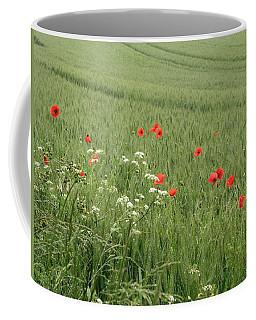 in Flanders Fields the  poppies blow Coffee Mug