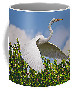 In Flight Coffee Mug by Judy Kay