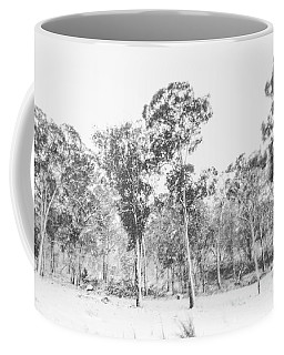 In Gusts Of A Snowstorm Coffee Mug