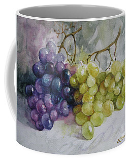 Coffee Mug featuring the painting In Harmony by Elena Oleniuc