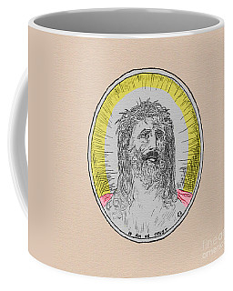 In Him We Trust Colorized Coffee Mug