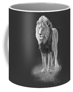 In His Prime - Black And White Coffee Mug