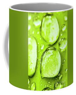 Water Droplets Coffee Mugs
