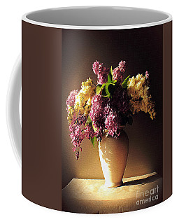 In Purple Coffee Mug