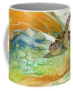 Coffee Mug featuring the painting In Search Of Sea Grass  by Darice Machel McGuire