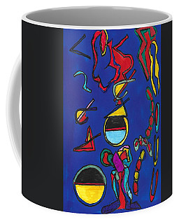 In Search Of Trilateration Coffee Mug