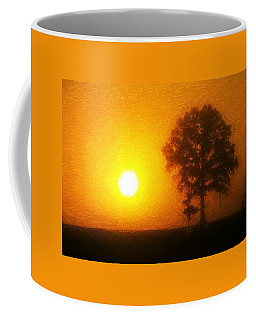 Coffee Mug featuring the painting In The Beginning by Dan Sproul