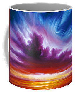 In The Beginning Coffee Mug by James Christopher Hill