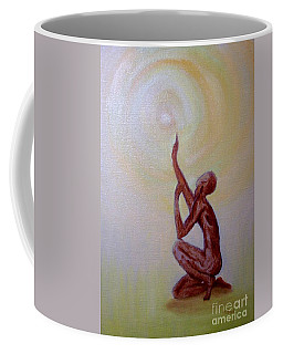 In The Beginning Coffee Mug by Marlene Book