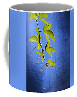 Coffee Mug featuring the photograph In The Blue by Carolyn Marshall
