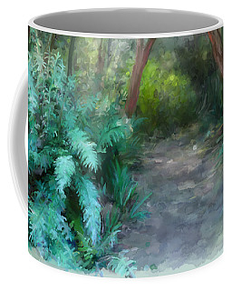 Coffee Mug featuring the painting In The Bush by Ivana Westin