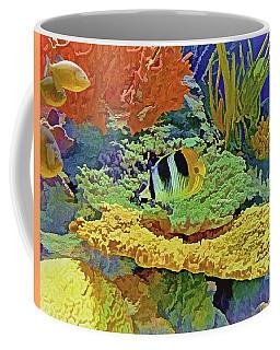 In The Coral Garden 10 Coffee Mug
