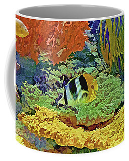 In The Coral Garden 10 Coffee Mug