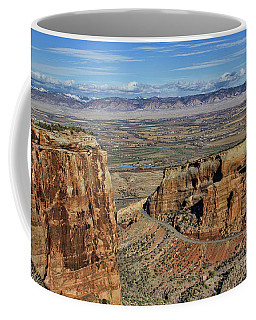 In The Distance Coffee Mug by Steven Parker