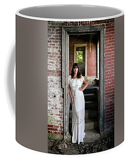 Coffee Mug featuring the photograph In The Doorway by Rick Berk